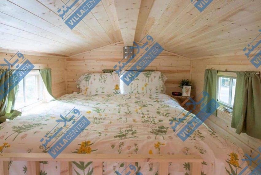 اتاق خواب ویلای ماشینی